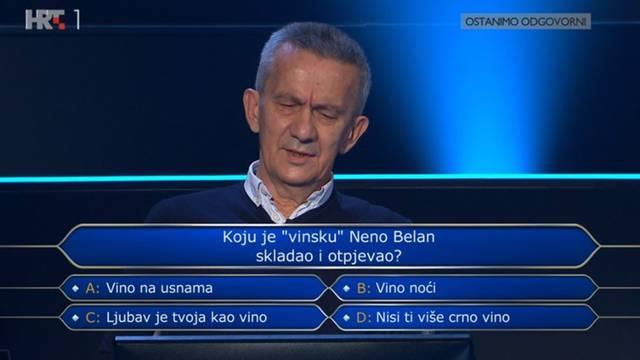 Na hit Nene Belana potrošio je dva džokera: Znate li odgovor?