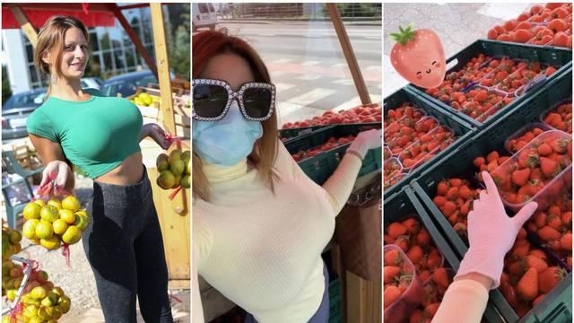 Kristina: Kupci drže razmak i svi strpljivo čekaju moje jagode
