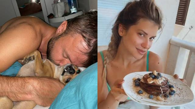 Ecija objavila fotku dečka Gorana iz kreveta: 'Ovo je prvo što ja vidim kad se probudim'