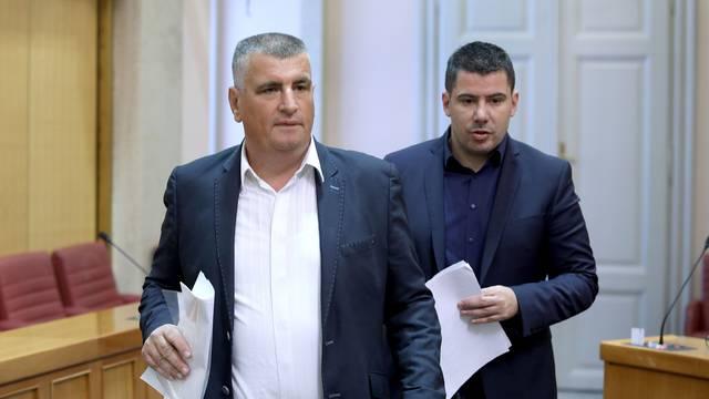 Zagreb: Sabor glasuje o raspravljenim točkama dnevnog reda
