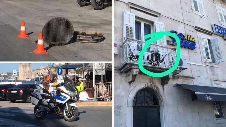 Afera 'leteći šahtovi' u Trogiru: 'Tako je eksplodiralo... Mislio sam da je grunula plinska boca'