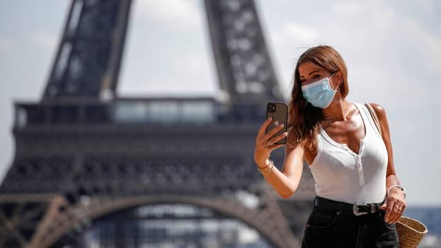 FILE PHOTO: France requires masks inside public places