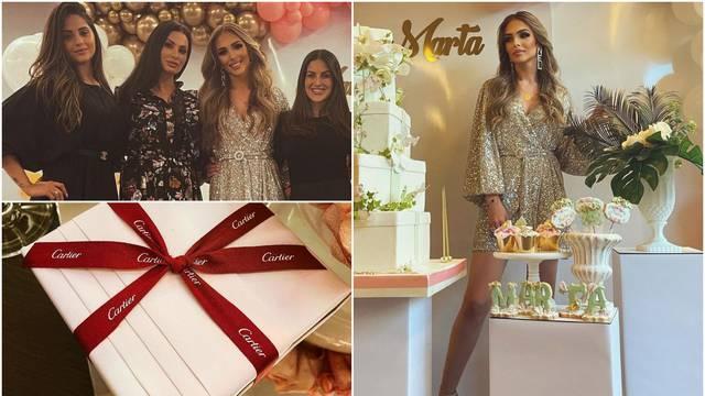 Marta Fernandes proslavila 25. rođendan u luksuzu i raskoši, na slavlje je pozvala i Ivanu Vidu