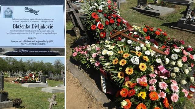 Tuga u Šarengradu, velik broj mještana oprostio se od ubijene Blaženke: 'Nije zaslužila ovo'