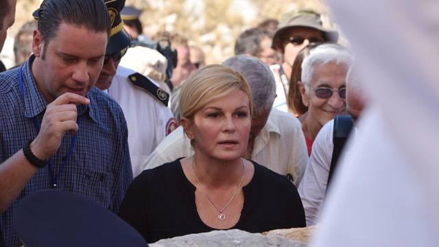 Misa za poginule vatrogasce: Na Kornat stigla i predsjednica