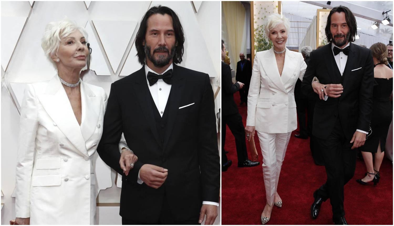 Keanu poveo mamu na Oscare: Zamijenili je za njegovu curu...