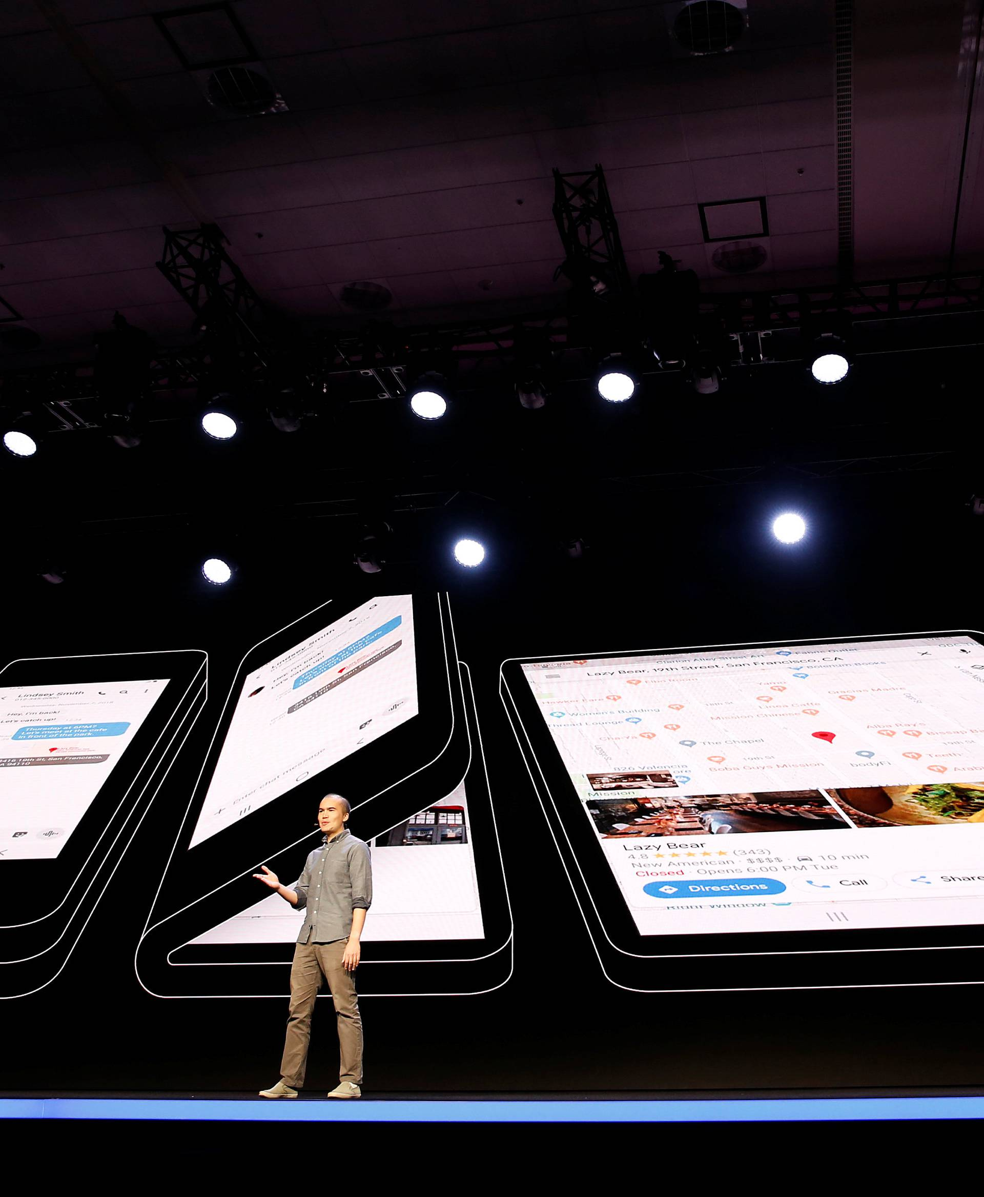 Samsung unveils foldable screen display in San Francisco