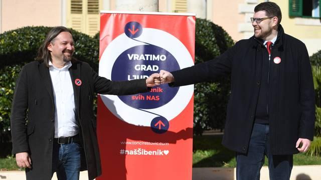 Šibenik: Tonči Restović predstavljen kao kandidat za gradonačelnika