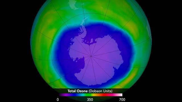 Ozonska rupa se smanjuje, za 30 godina će potpuno nestati
