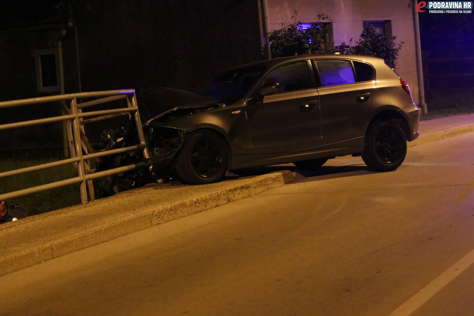 Smrskao BMW i most: Lakše je ozlijeđen, izgubio je kontrolu...