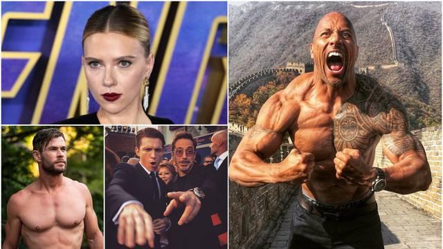 Razlike u plaći: The Rocku 222 mil. kuna više nego Scarlett...