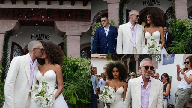 'Skromni obred': Cassel oženio 30 godina mlađu manekenku