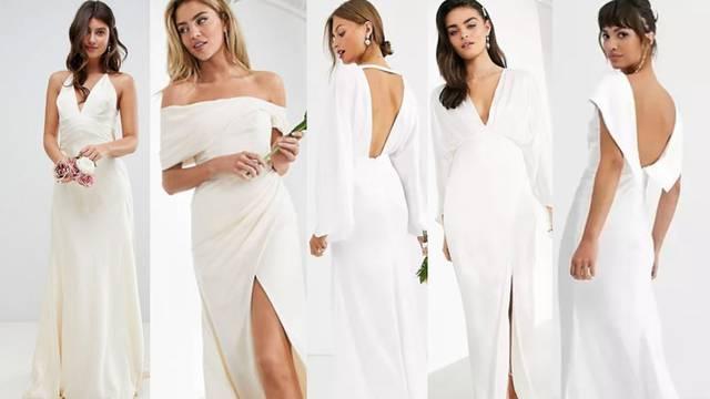 Samo za mladenke željne super minimalizma: Vjenčanice bez detalja, ukrasa i aplikacija