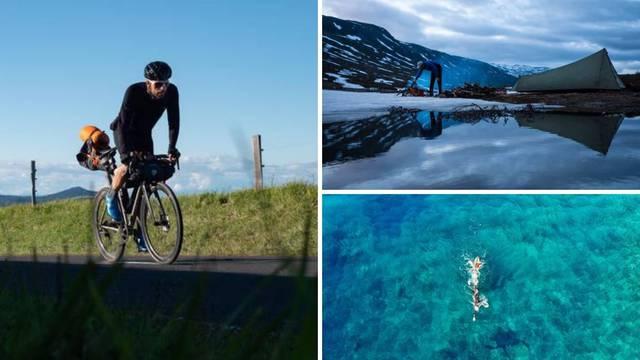 Prvi triatlon oko svijeta: Jonas (22) na tom putu plivao je i u Hrvatskoj te već oborio rekord