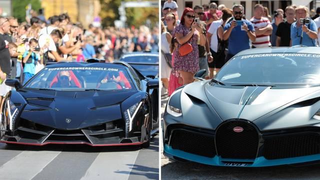 UŽIVO Nevera, Bugatti, Ferrari stigli na Krk: 'U Hrvatskoj nikad nije bila moćnija grupa ljudi'
