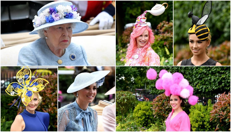 Kraljica (93) uživa na 'paradi šešira', a Meghan ostala doma