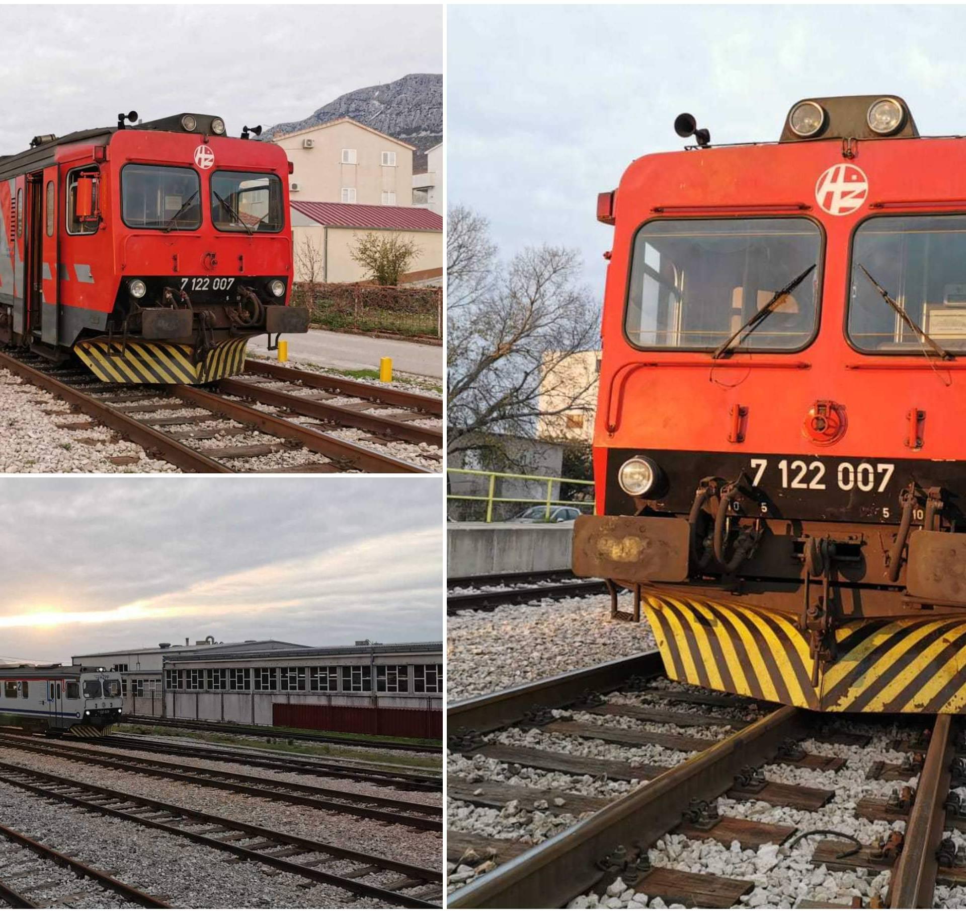 Ponovno je s tračnica izletio vlak, ovaj put u Kaštel Sućurcu