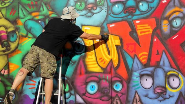 Umjetnik Lunar u Zagrebu traži pročelje zgrade koje će oslikati