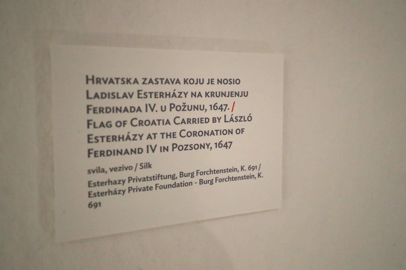 Zagreb; Svečano otvorenje izložbe o 800 godina zajedničke kulturne baštine Mađarske i Hrvatske