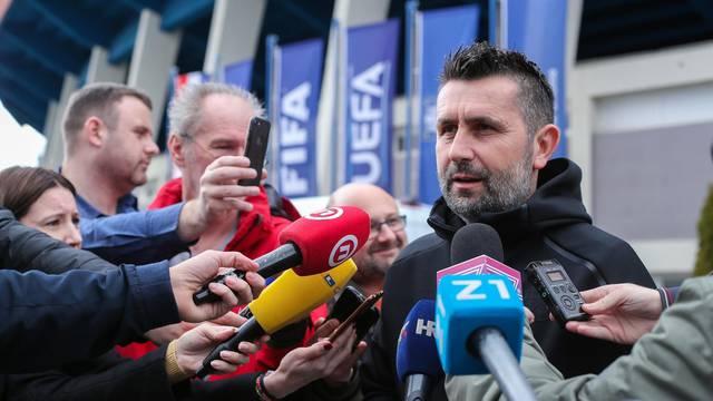Zagreb: Trener GNk Dinamo, Nenad Bjelica, najavio je utakmicu protiv Hajduka