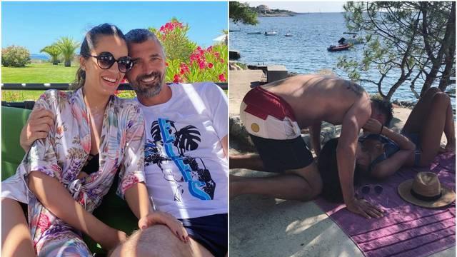 Nives i Goran ljube se na plaži: 'Uz tebe se osjećam sigurno'
