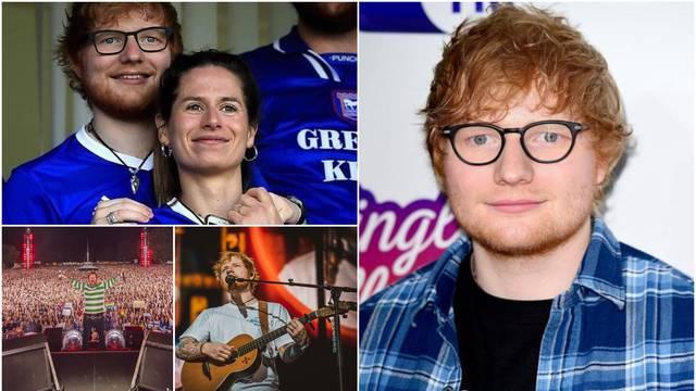 Ed Sheeran: Povlačim se, želim što više biti sa svojom ženom