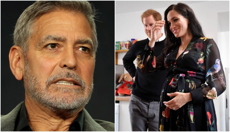 Clooney branio Meghan i otkrio da ipak neće biti kum djetetu
