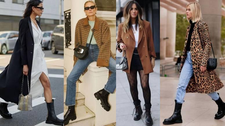 Stilska inspiracija: Crne grunge čizme u raznim kombinacijama