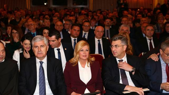 Plenković, Kolinda i Čović su dogovorili: Pomagat ćemo BiH