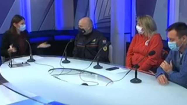 VIDEO Zatreslo je usred emisije HRT-a: 'Evo ga, opet se osjetio'