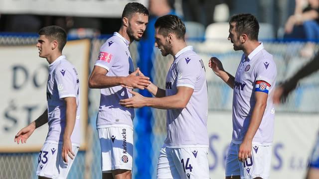 Županja: Utakmica 16-ine finala Hrvatskog nogometnog kupa NK Graničar - HNK Hajduk