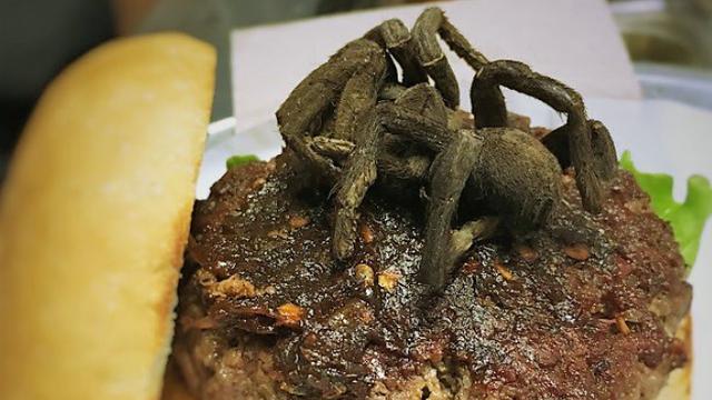 U hamburger stavili tarantulu: 'Slično je  morskim plodovima'