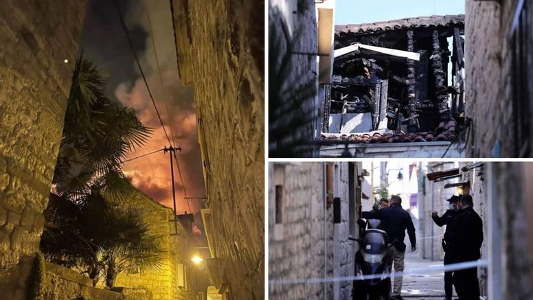Požar u Trogiru: Muškarac (42) poginuo, bore se za život žene
