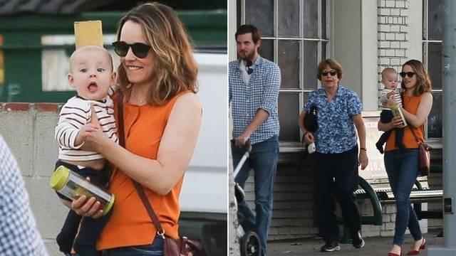 Rachel McAdams pokazala sina prvi put: Skriva njegovo ime...