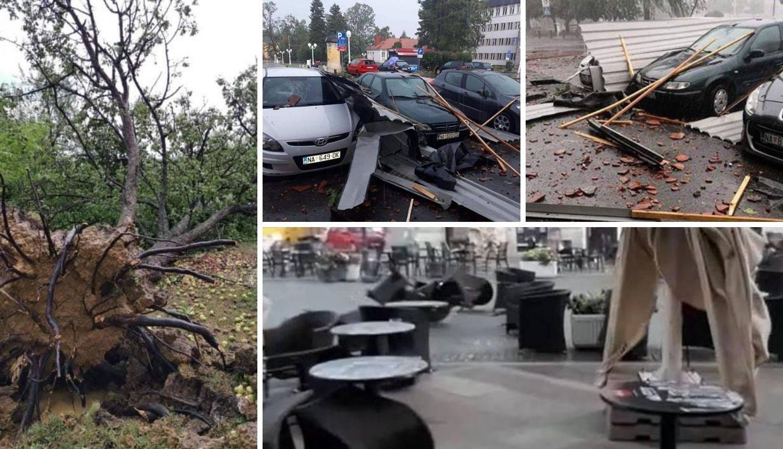 'U Našicama ne pamtimo oluju kao ovu, štete su jako velike'