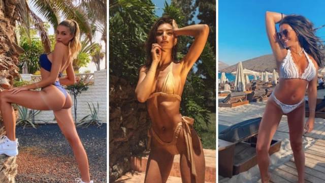Super vrući bikiniji zvijezda: Tek malo pokrivaju, ali one uživaju