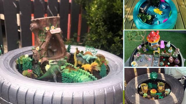 Uradi sam u karanteni: Čarobni vrtovi za dinosaure, ribice...
