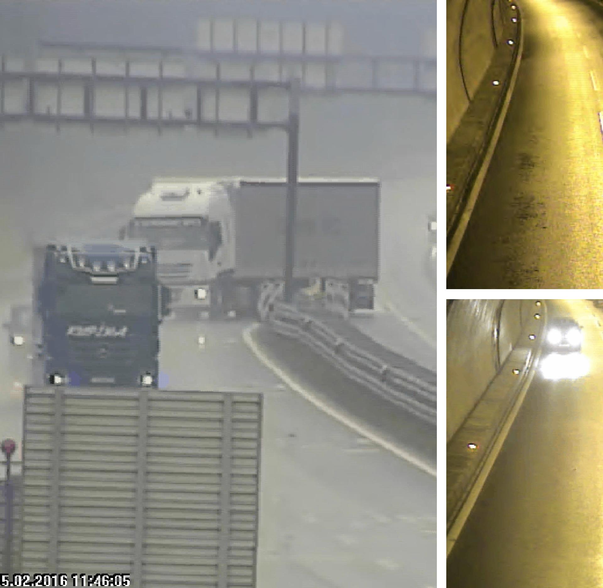 Snimile kamere: Voze u krivom smjeru, okreću se u tunelima...