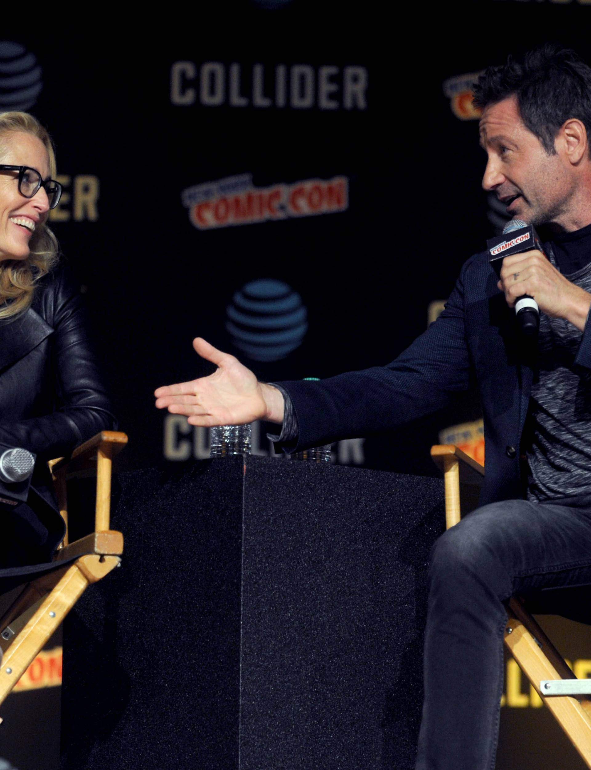 New York Comic Con - X-Files Panel - NYC