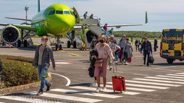 Pulska zračna luka dočekala prve ovogodišnje putnike iz Rusije