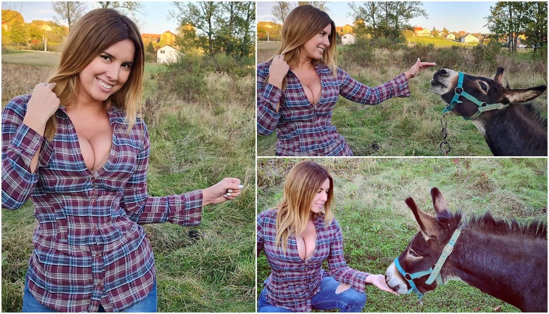'Muškarci i magarci jedu mi iz ruke': Nives uživala sa Šimom