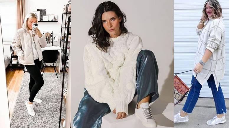 Zvijezda ulične mode: Bijele tenisice osvježenje su sezone