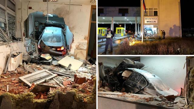 Stravične fotografije: Vozač se zabio u naplatnu postaju kod  Velike Gorice, poginuo djelatnik