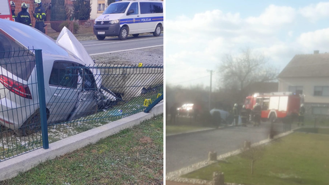 Prebrzo vozio Golfa pa skrivio nesreću: Ozlijeđene dvije žene