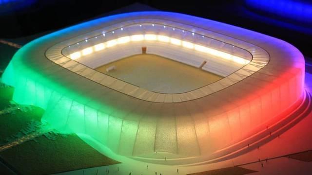 Spektakularan projekt: Kosovo gradi krasan nacionalni stadion