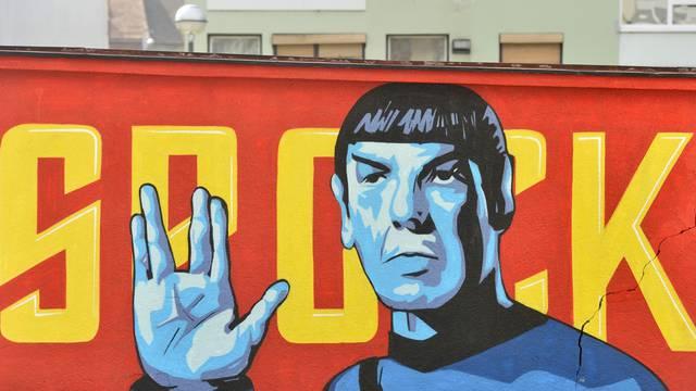 Zagreb: Zid s grafitom Spocka 2015. i danas kada je prebojan