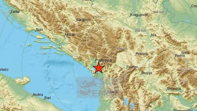 Novi potres jačine 4.7 u Albaniji