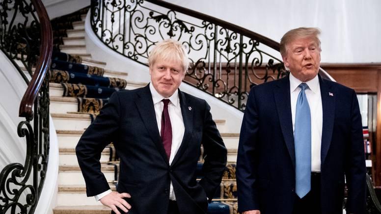 'Boris Johnson i Trump slažu se oko trgovinskog sporazuma'