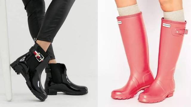 Gumene čizme u 10 chic stylinga