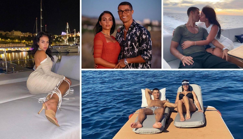 Ronaldo i Georgina izmjenjuju nježnosti na jahti od 46 mil. kn